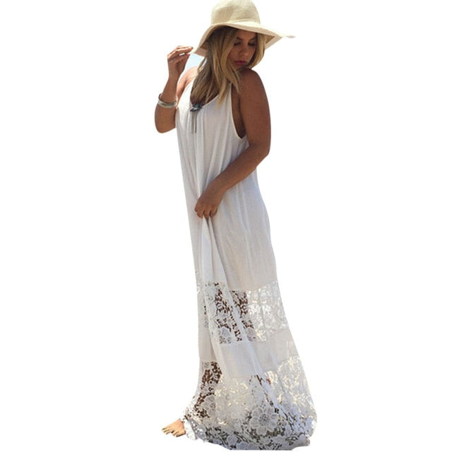Lace Trim Sundress
