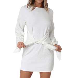 Long Sleeve bandage dress