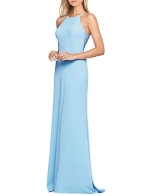 Halter Sleeveless Side Hollow dress