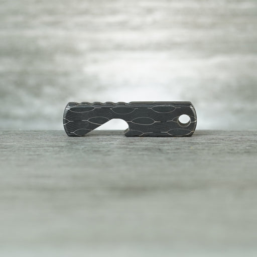 Baby Hippo Bottle Opener - Cheetah Damascus