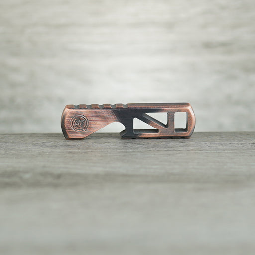 Baby Hippo Bottle Opener - Skeletonized TeCu Copper