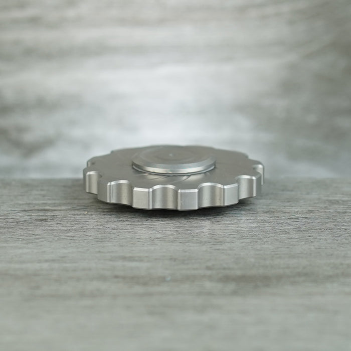 COGnito Hand Spinner - Steel Radial Lines