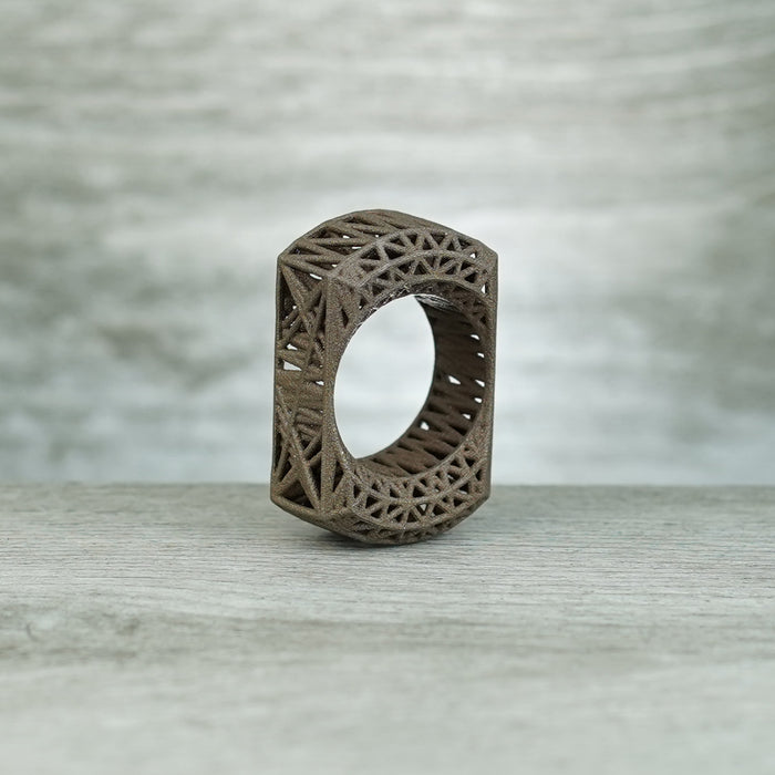 Caged 3D SFK - Matte Bronze