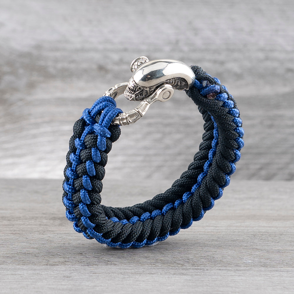 Covenant Spine High Potency Bracelet - The Blue Line