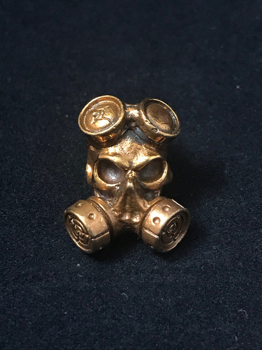 Gas Mask Lanyard Bead - Copper
