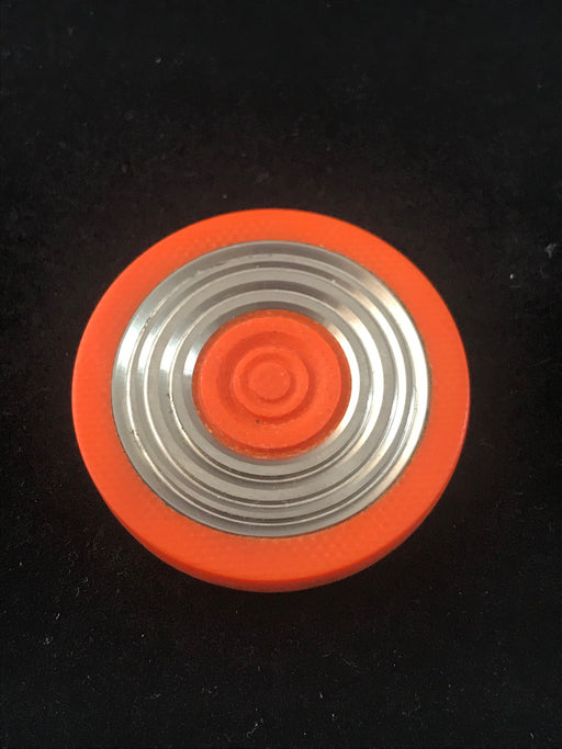 Code Orange Concentric Rings Worry Coin 1