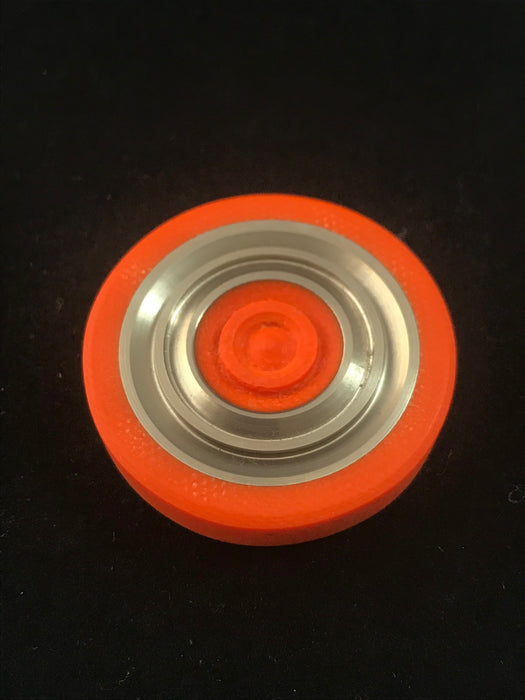 Code Orange Concentric Rings Worry Coin 2