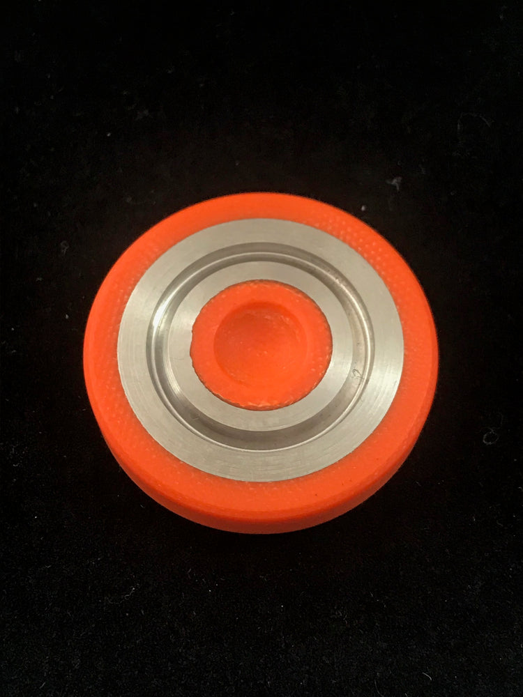 Code Orange Concentric Rings Worry Coin 3