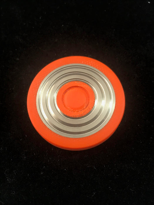 Code Orange Concentric Rings Worry Coin 5