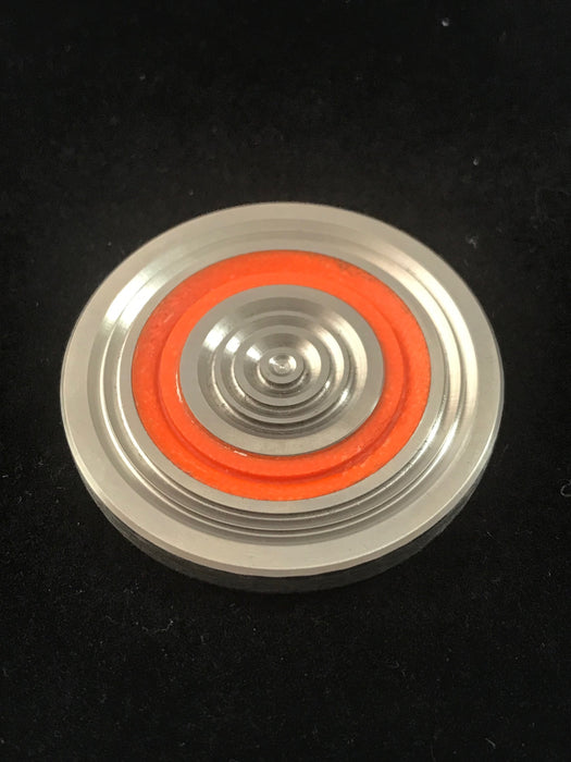 Code Orange Concentric Rings Worry Coin 6