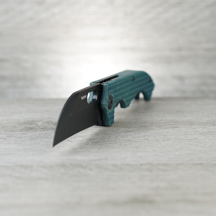 Mini Goat - Black/Green G10