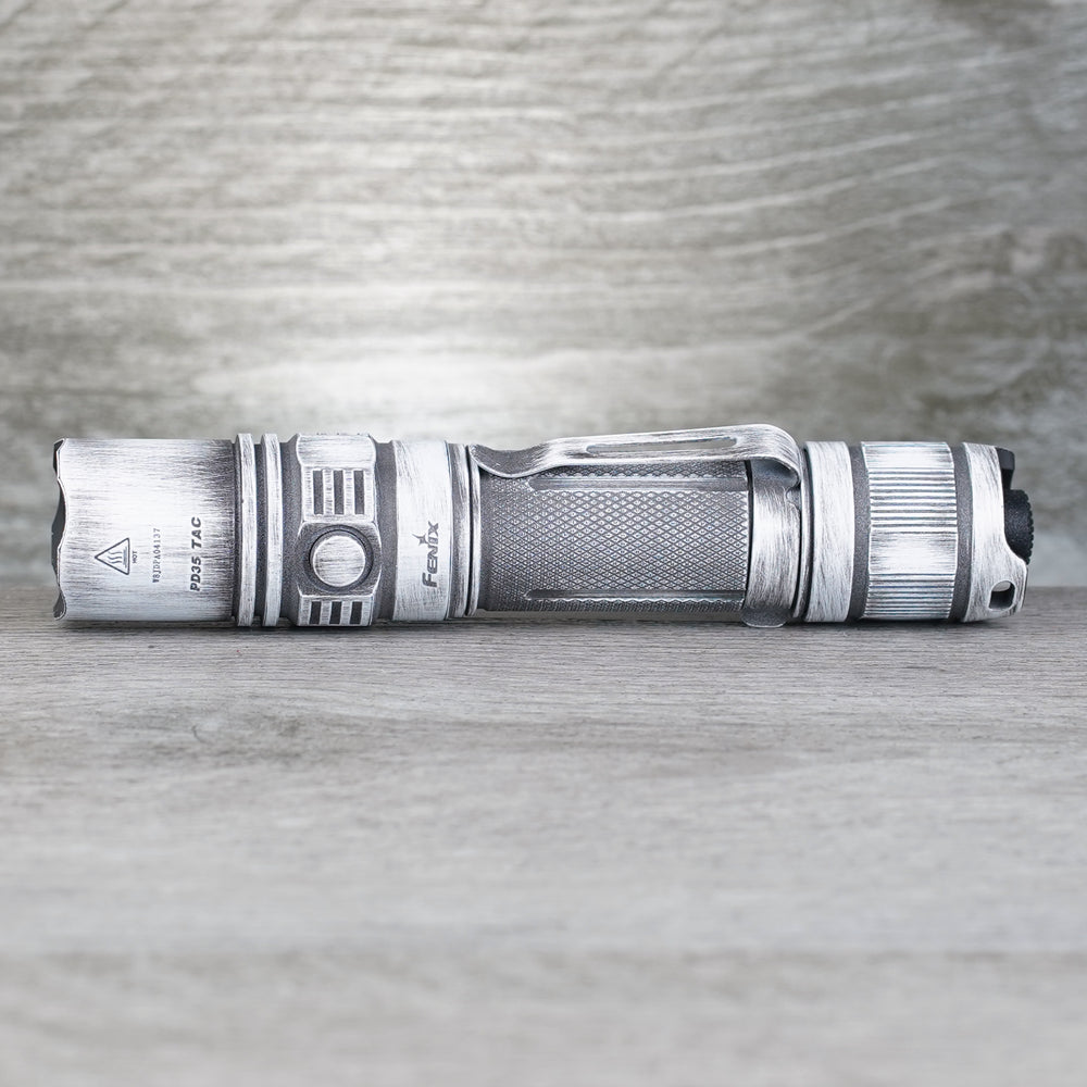 PD35 TAC Elite Flashlight - Arctic Battleworn