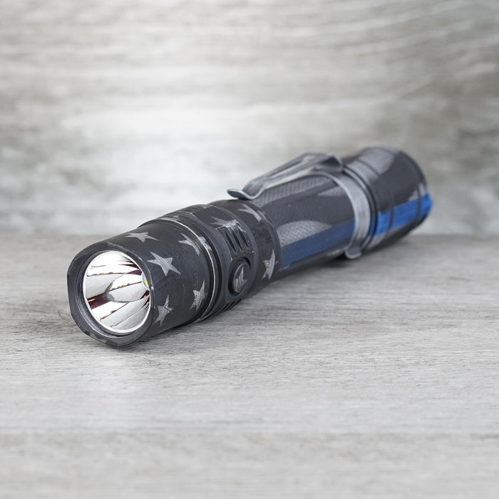 PD35 TAC Elite Flashlight - The Blue Line