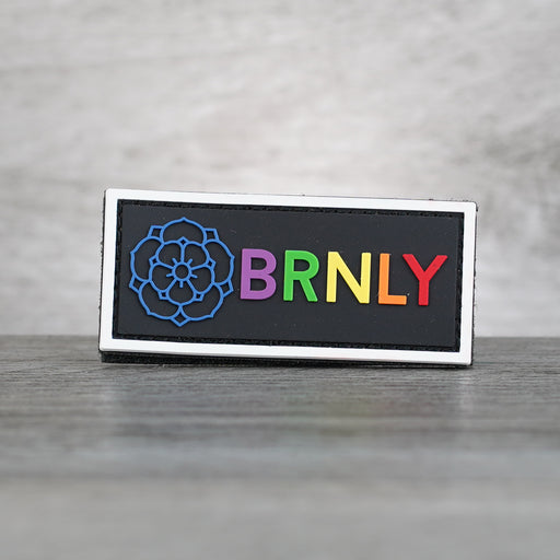 Patch - BRNLY Rainbow PVC