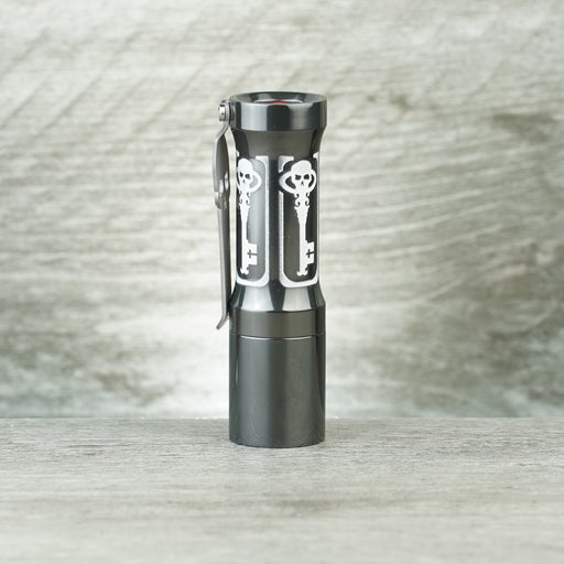Salvacion Tactical Torch - Zirconium Black Mirror