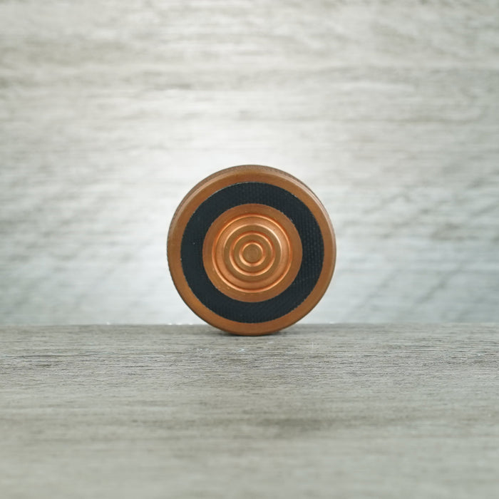 Spinning Worry Coin - Copper/G10