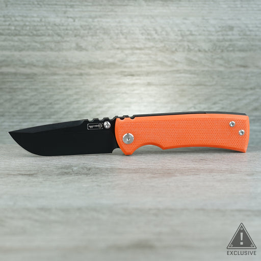 Ultramar Redencion Drop Point - PVD/Code Orange G10