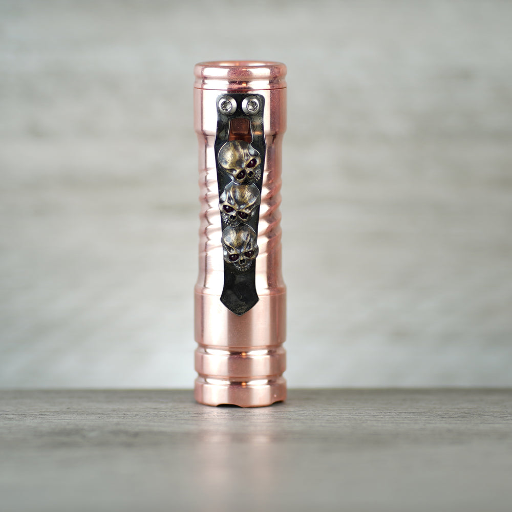 Vision Torch - Copper with Steel Flame3D 3 Amigos Ruby Eyes Clip