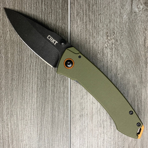 TUNA - Stonewash Steel/Green G10