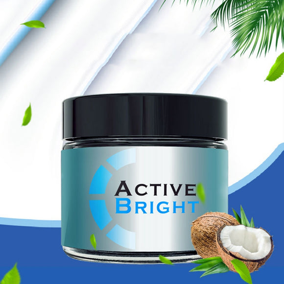 Natural Coconut Shell and Charcoal Teeth Whitening Powder - Ombak