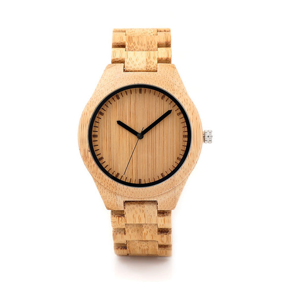 Watches bamboo wood