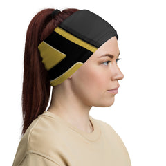 Yellow ninja Neck Gaiter