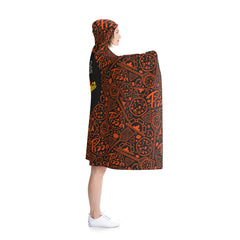 In Pizza We Crust Hooded Blanket