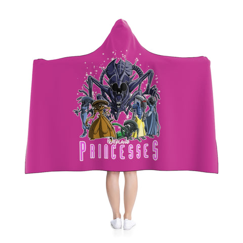 Weyland Princesses Hooded Blanket