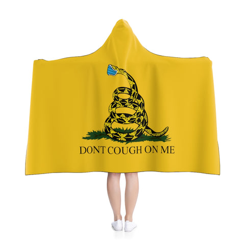 Don't Cough On Me Hooded Blanket