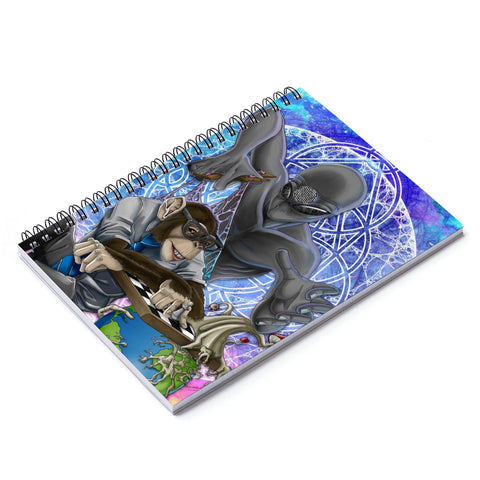 Underlying Nature of Reality Spiral Notebook - Ruled Line
