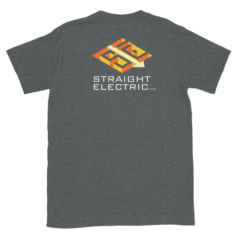 Straight ElectricShort-Sleeve Unisex T-Shirt