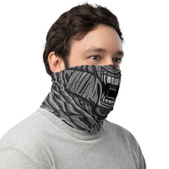 Alien mouth Neck Gaiter