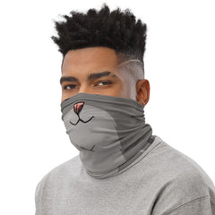 Cat Face Neck Gaiter