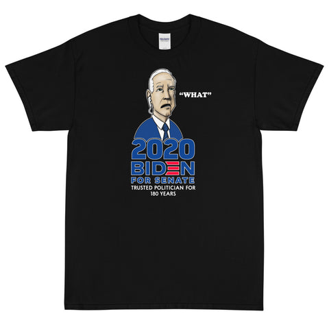 Biden For Senate Short Sleeve T-Shirt