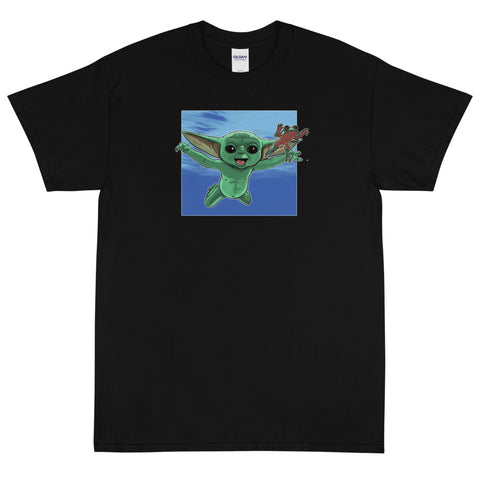 Nirvana Frog Baby Short Sleeve T-Shirt