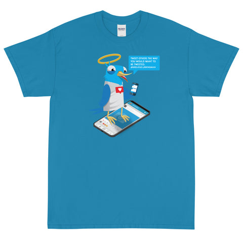 Twitter Jesus Short Sleeve T-Shirt