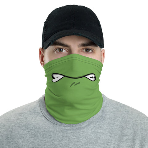 Turtle Teeth Face Mask Neck Gaiter