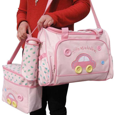 Baby Diaper Bag 4pcs Multifunctional Bag
