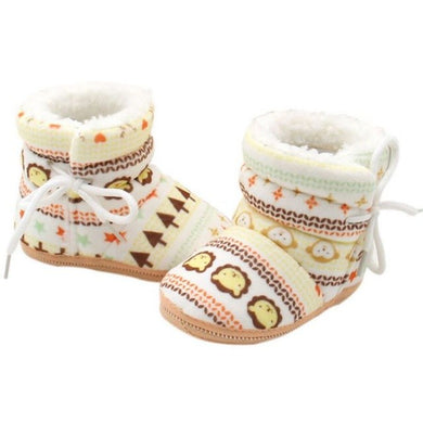 Winter Warm Baby Knitted Booties