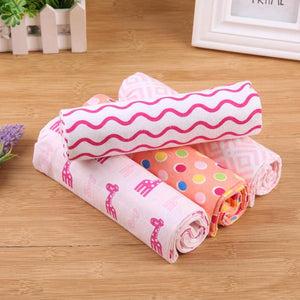 Baby Blanket 4pcs/set Soft Cotton Bedding