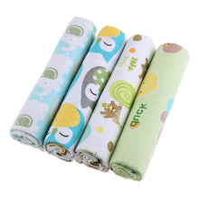 Load image into Gallery viewer, Baby Blanket 4pcs/set Soft Cotton Bedding