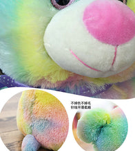 Load image into Gallery viewer, Plush Rainbow Teddy Bear