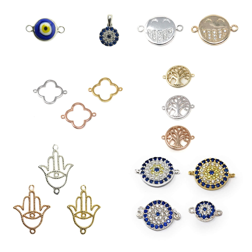 Charms, Pendants and Connectors