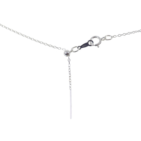 Add A Bead Chain Necklace. 925 Sterling Silver Necklace Adjustable Chain