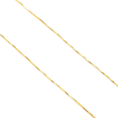 gold sterling silver chain