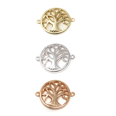 Tree of Life Charms Connectors