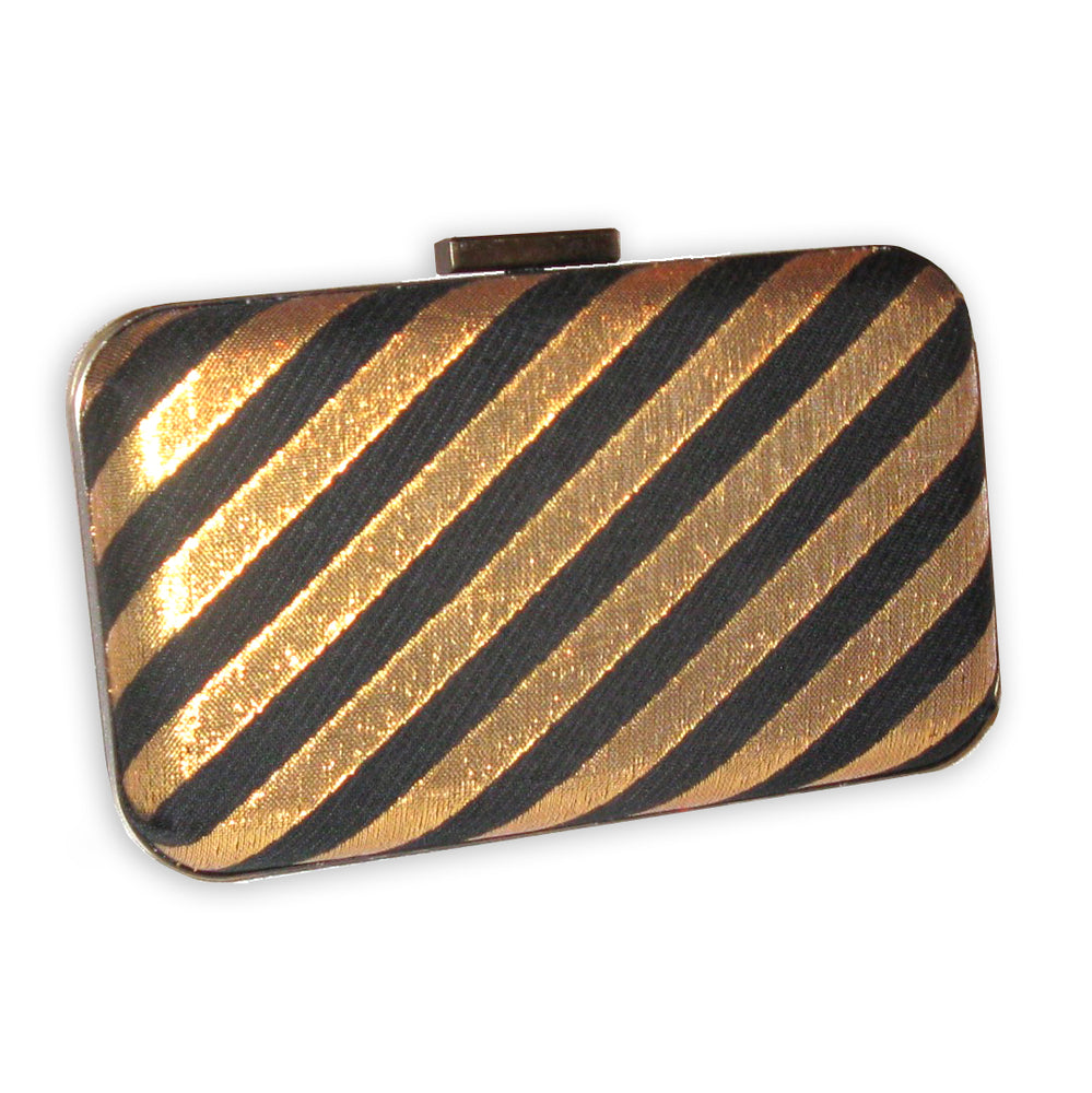 B 003 - Black & Gold Diagonal
