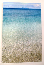 Original Photo on Canvas - Seascape and Rangitoto