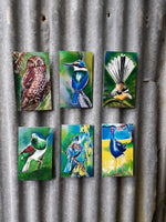 Special, three of Your Choice Outdoor Art Mini Panels - Satherley Silks NZ