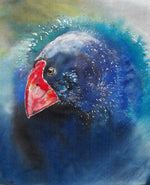 New Zealand Takahe Outdoor Art - Satherley Silks NZ